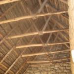 屋根の骨組み