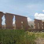 ウィラコチャ神を祀る神殿跡
