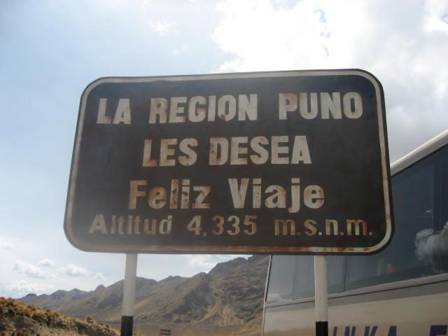 標高4335m