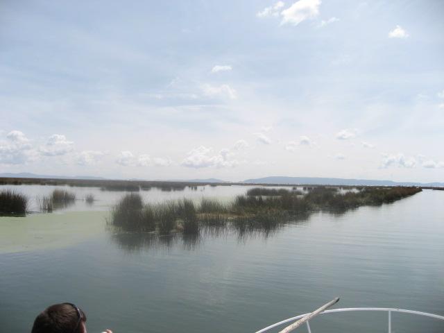 チチカカ湖は広い!
