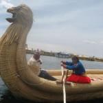ジャガーのトトラ船(横)
